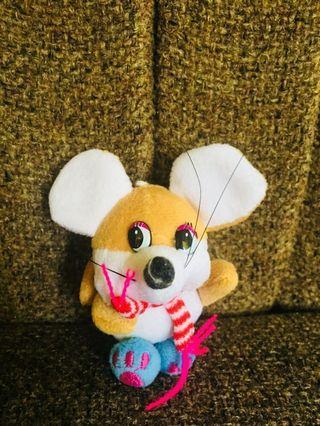 Boneka mini brown mouse