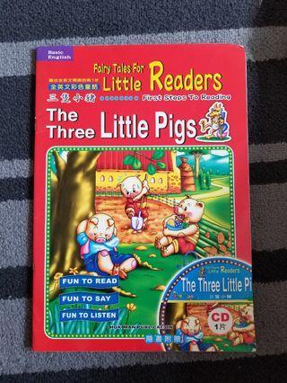 The three little pigs 三隻小豬英文書……冇CD