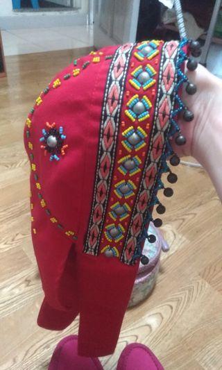 原住民手工帽
