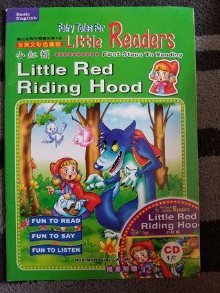 Little red riding hood 小紅帽……英文書