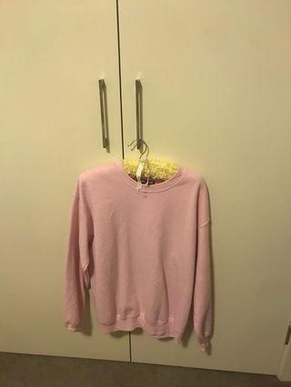 Pink jumper