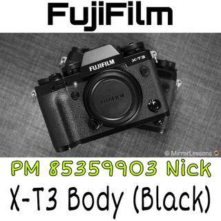 Fujifilm X-T3 Body (Black)