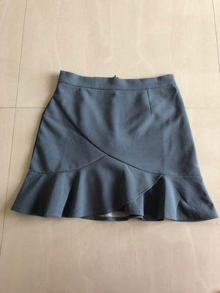 🚚 BN Joop blue grey skirt M
