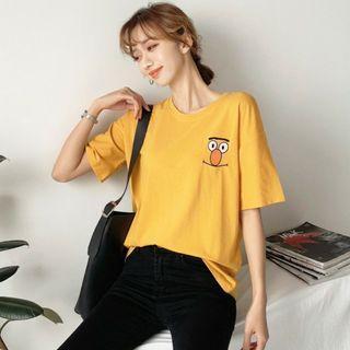 Korean Ulzzang Sesame Street T-shirt