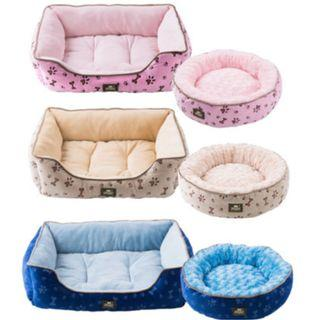 Paw Print Dog Bed / Cat Bed / Pet Bed