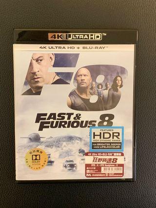 Fast and Furious 8 狂野時速 8 浄blu-ray