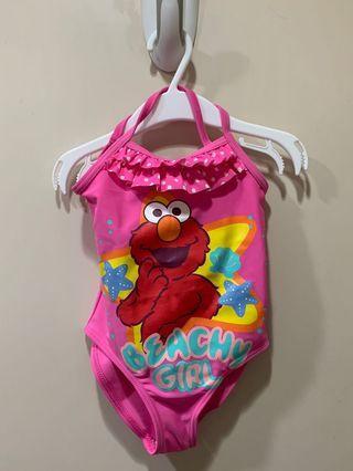 全新Elmo女童泳衣