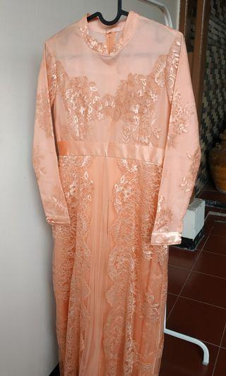 Dress Kebaya Brukat Salem