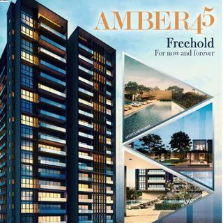 FREEHOLD Development located right in the Heart of Marine Parade : AMBER 45