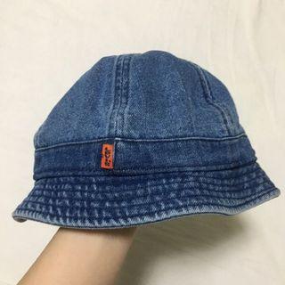 🚚 Levi's  牛仔 丹寧 漁夫帽 橘標 含吊牌 全新