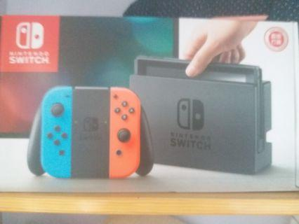 Nintendo Switch full set 100%new
