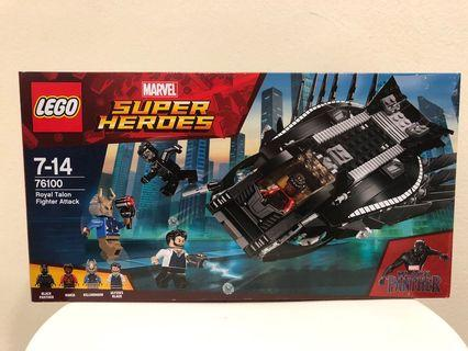 Lego 76100 Super Heroes Royal Talon Fightrt Attack