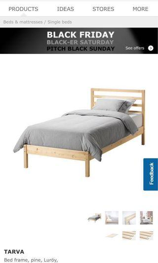 Pre-owned IKEA bed frame
