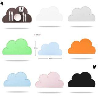 可愛雲朵餐墊