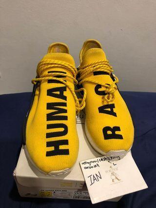 wtt> human race yellow OG