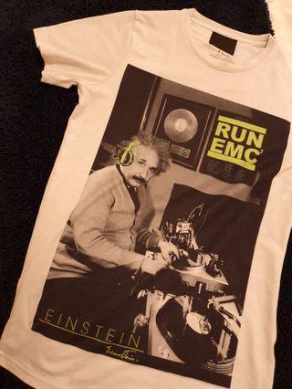RUN EMC DJ Einstein hip hop t-shirt size S