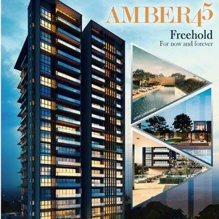 Rare FREEHOLD Launch : Amber 45 right in the Heart of Marine Parade.