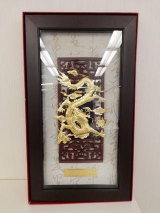 Golden dragon(24K gold)