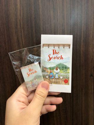 [WTT] #BuySingLit bookmark + pin