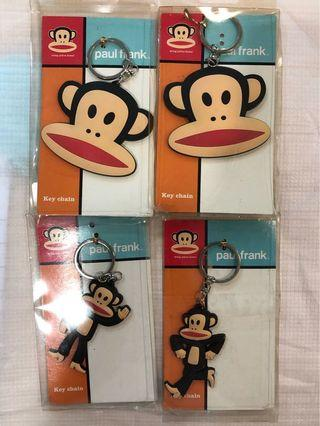 Paul Frank luggage Tags and keychains #endgameyourexcess