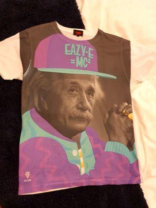 Eazy-E = MC2 Einstein hip hop t-shirt size S