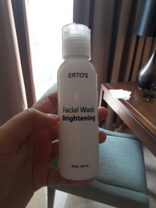 Ertos brightening facial wash original