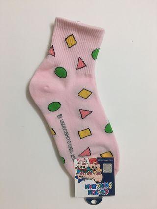 🚚 ✨全新 蠟筆小新襪 粉色