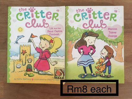 Critter club Story Books