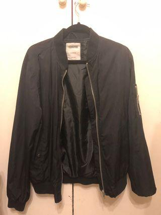 Standard black bomber jacket