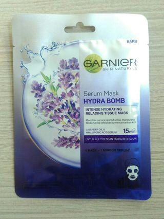 [NEW] GARNIER SERUM MASK HYDRA BOMB