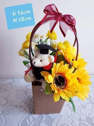 Graduation Bouquet in a bag