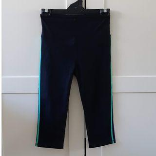 Black 3/4 yoga / gym tights (Cotton On Body)