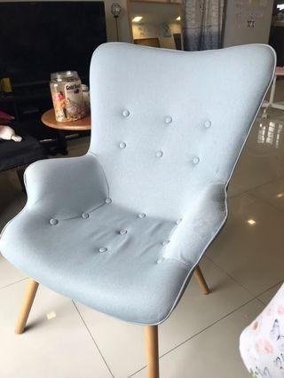 Beautiful premium light baby blue chairs