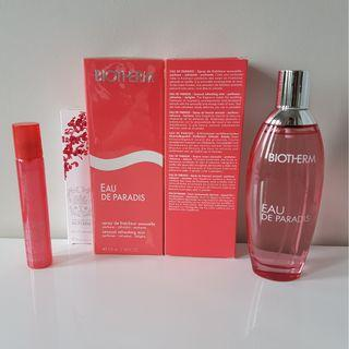 Biotherm perfume fragrance 100 ml full size spray