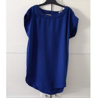 Cobalt blue tunic