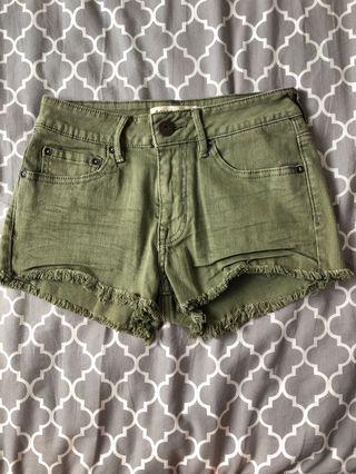🚚 Bullhead military shorts size 25