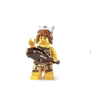 LEGO 8805 series 5 Cave Woman 原包裝已開袋確認公仔