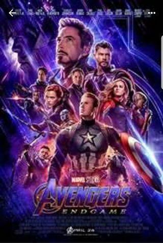 Marvel avenger endgame at cathay