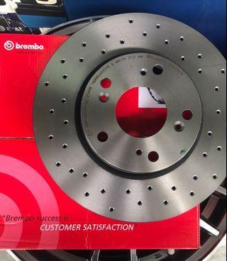 Honda Civic FD,Vezel,Stream Brembo Front Disc Rotor Drill