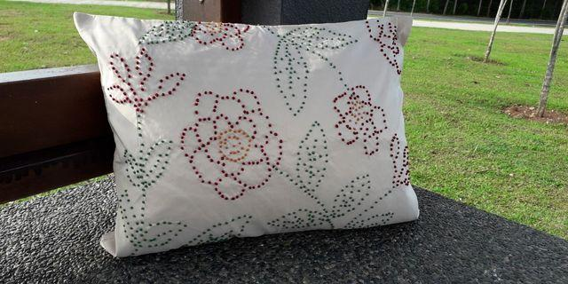Beads Cushion cover