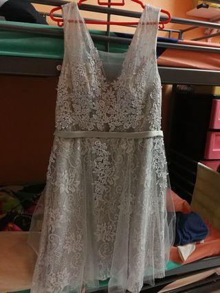 Lace Knee Dress