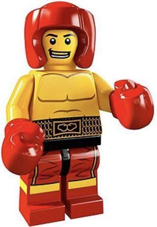 LEGO 8805 series 5 Boxer 原包裝已開袋確認公仔