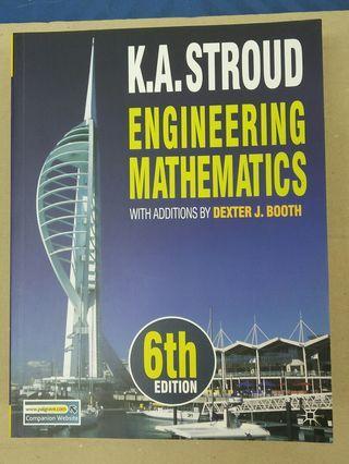 Engineering Mathematics textbook