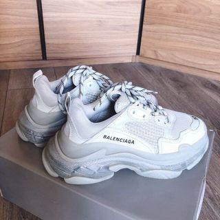 Balenciaga triples Idle to sell shoes size
