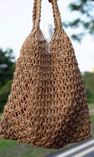 🚚 Woven Netted Bag from Vietnam