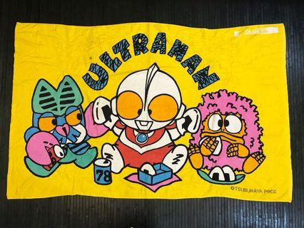 VINTAGE ULTRAMAN BIG TOWEL