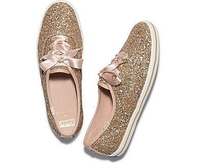 1dae56517383 Authentic Keds x Kate Spade New York Champion Glitter Wedding Sneakers