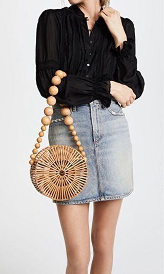🚚 Cult Gaia Bamboo Circle Bag