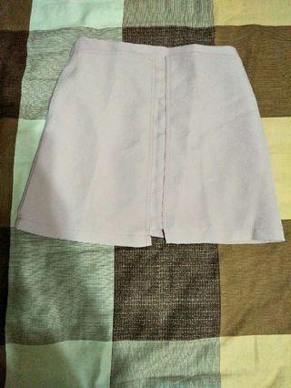 🚚 粉色A字短裙
