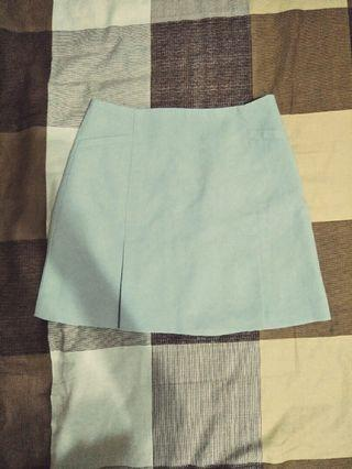 🚚 淺灰A字短裙